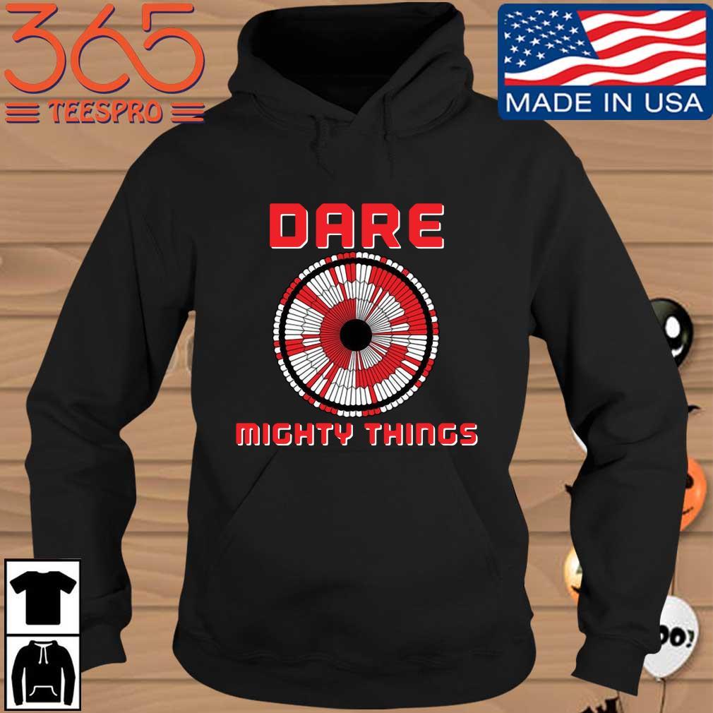 2021 Nasa dare mighty things Hoodie den