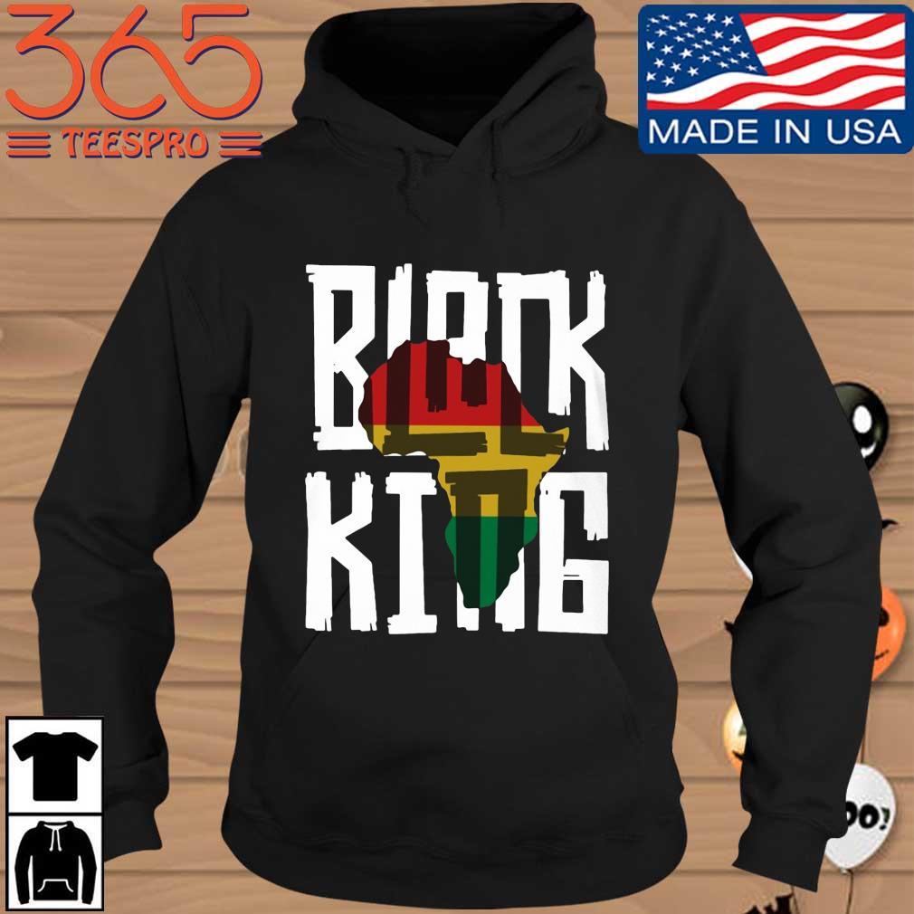 Black King Shirt Hoodie den