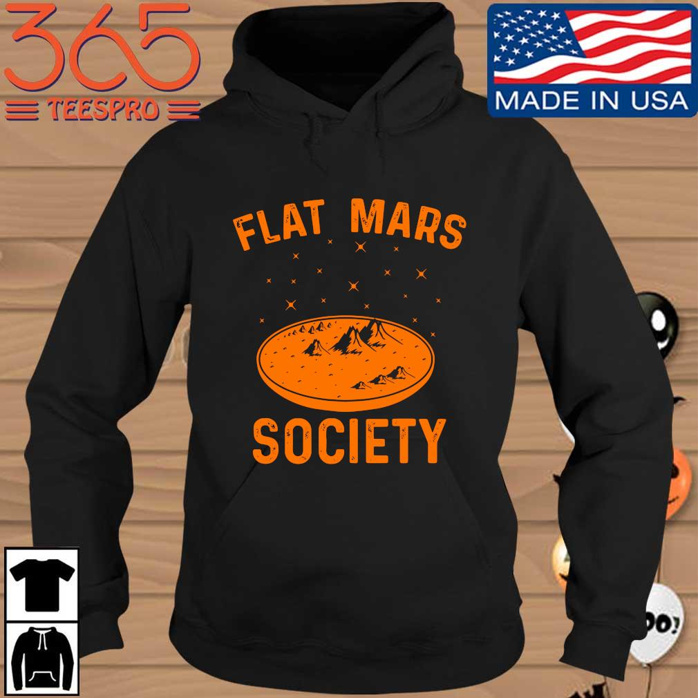 Official flat mars society Hoodie den