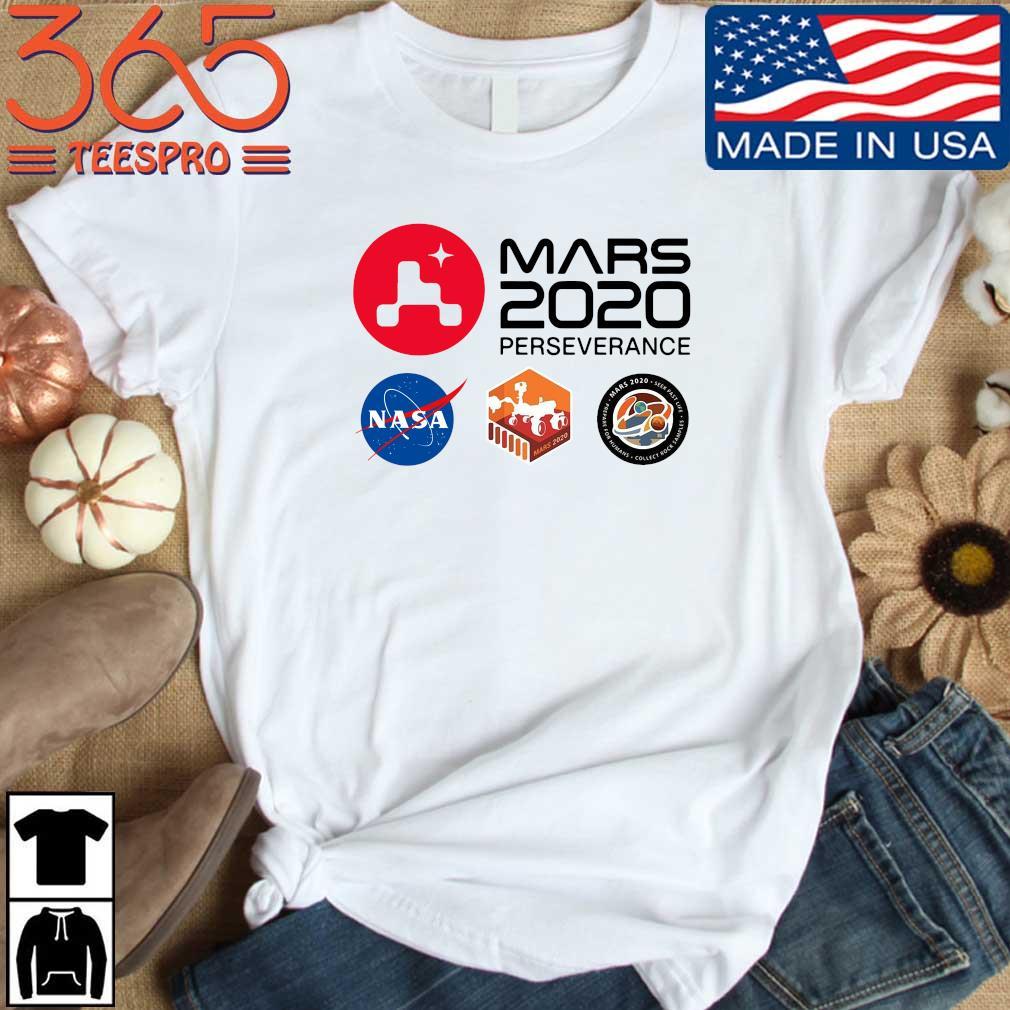 Official mars 2020 perseverance Nasa shirt