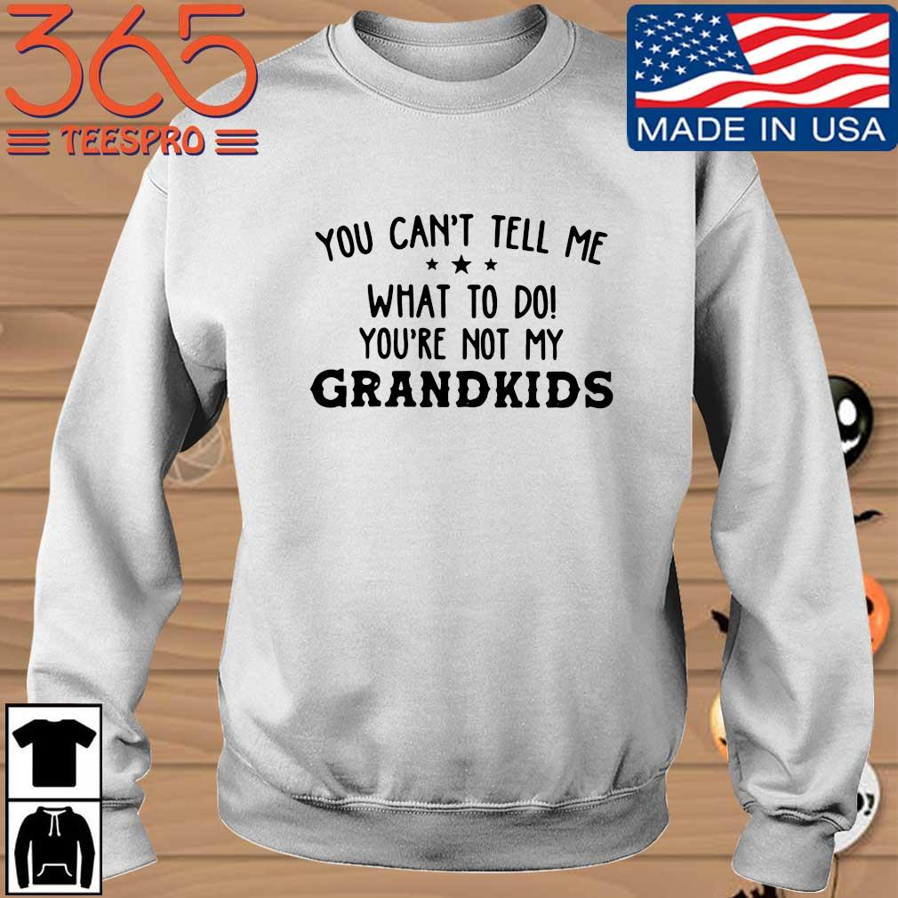 You can't tell me what to do you're not my grandkids s Sweater trang
