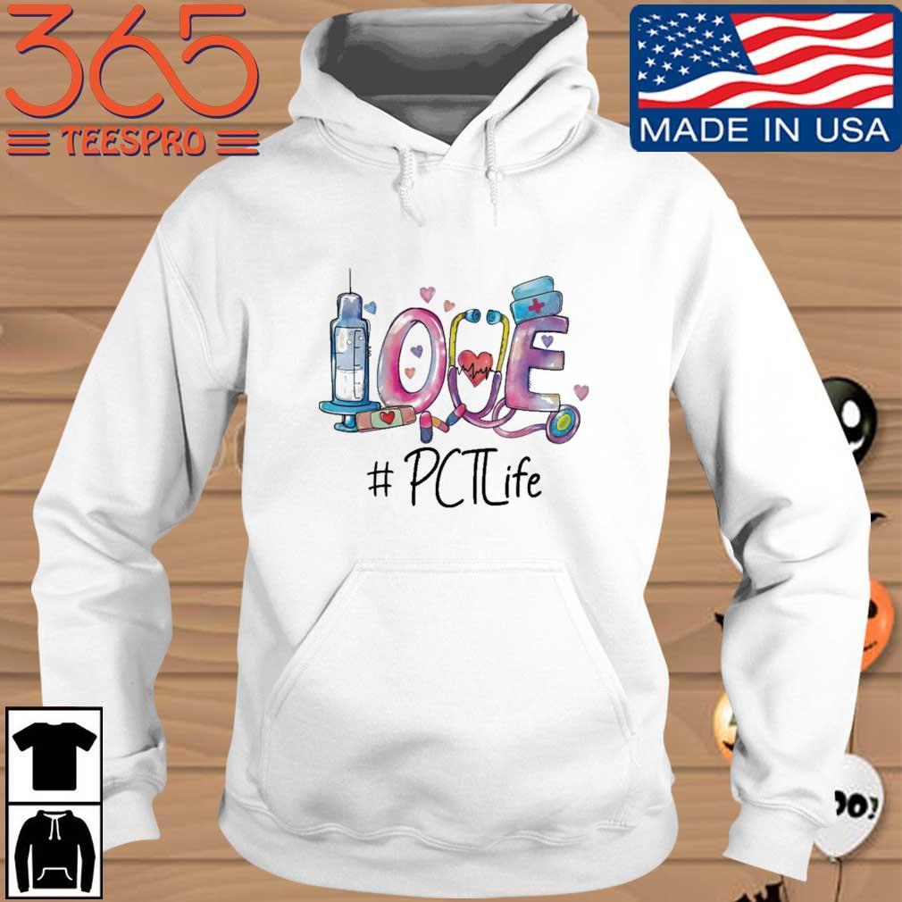Love #PCTLife Hoodie trang