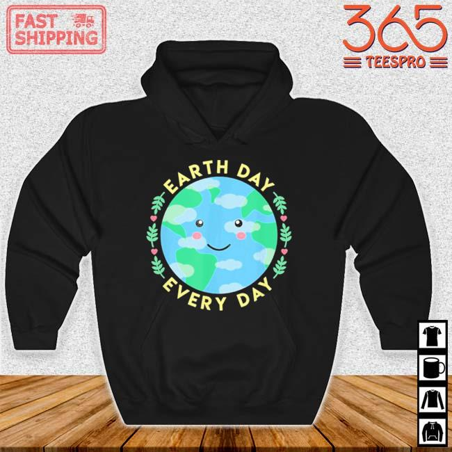 Earth Day Every Day Love the Environment Cute Kawaii Planet Shirt Hoodie den