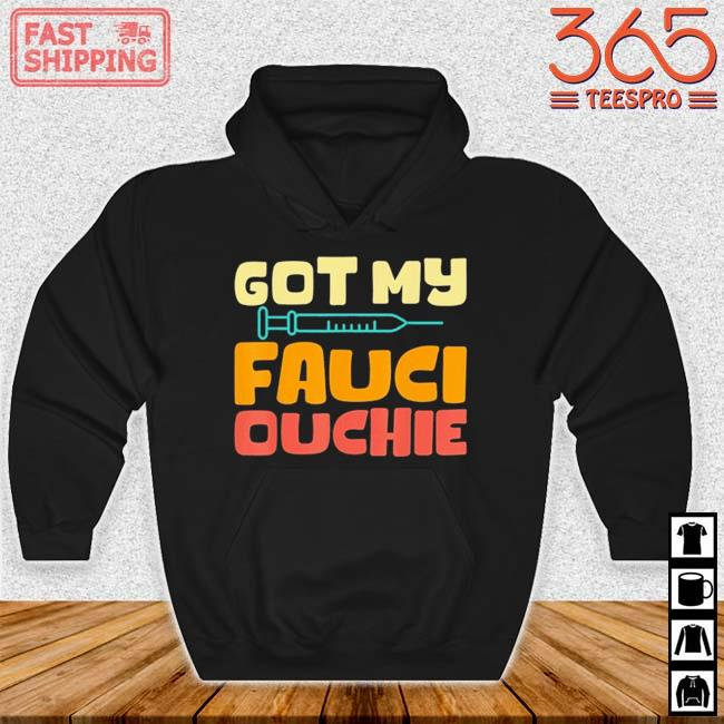 Got my Fauci ouchie vintage Hoodie den