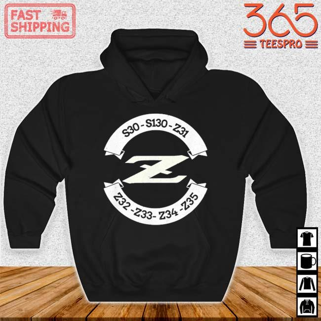 Heritage Z Classic JDM Car Badge Shirt Hoodie den