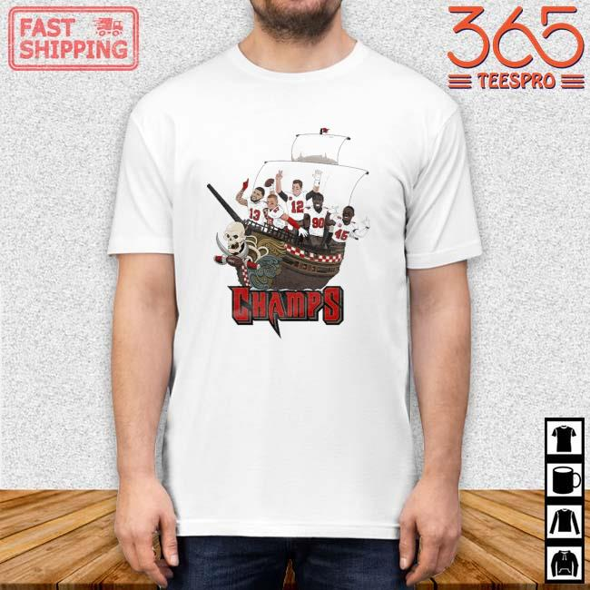 Tampa Bay Buccaneers Team Players Pirates Champs Shirt