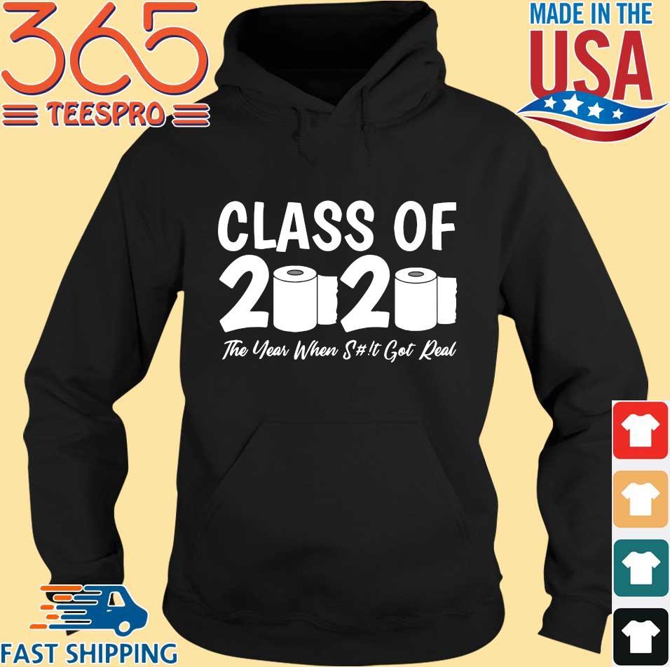 Class Of 2020 Graduation Senior Virus Flu Toilet Paper Shirts Hoodie den