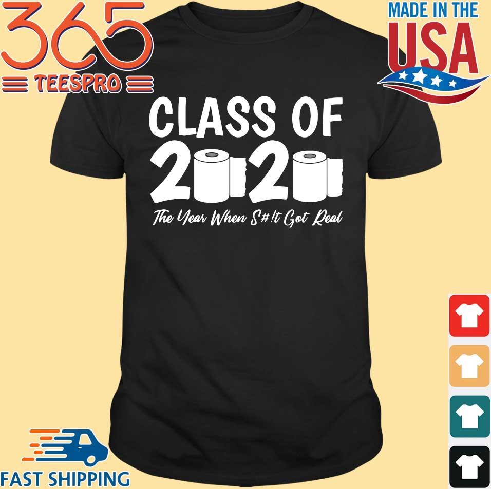Class Of 2020 Graduation Senior Virus Flu Toilet Paper Shirts
