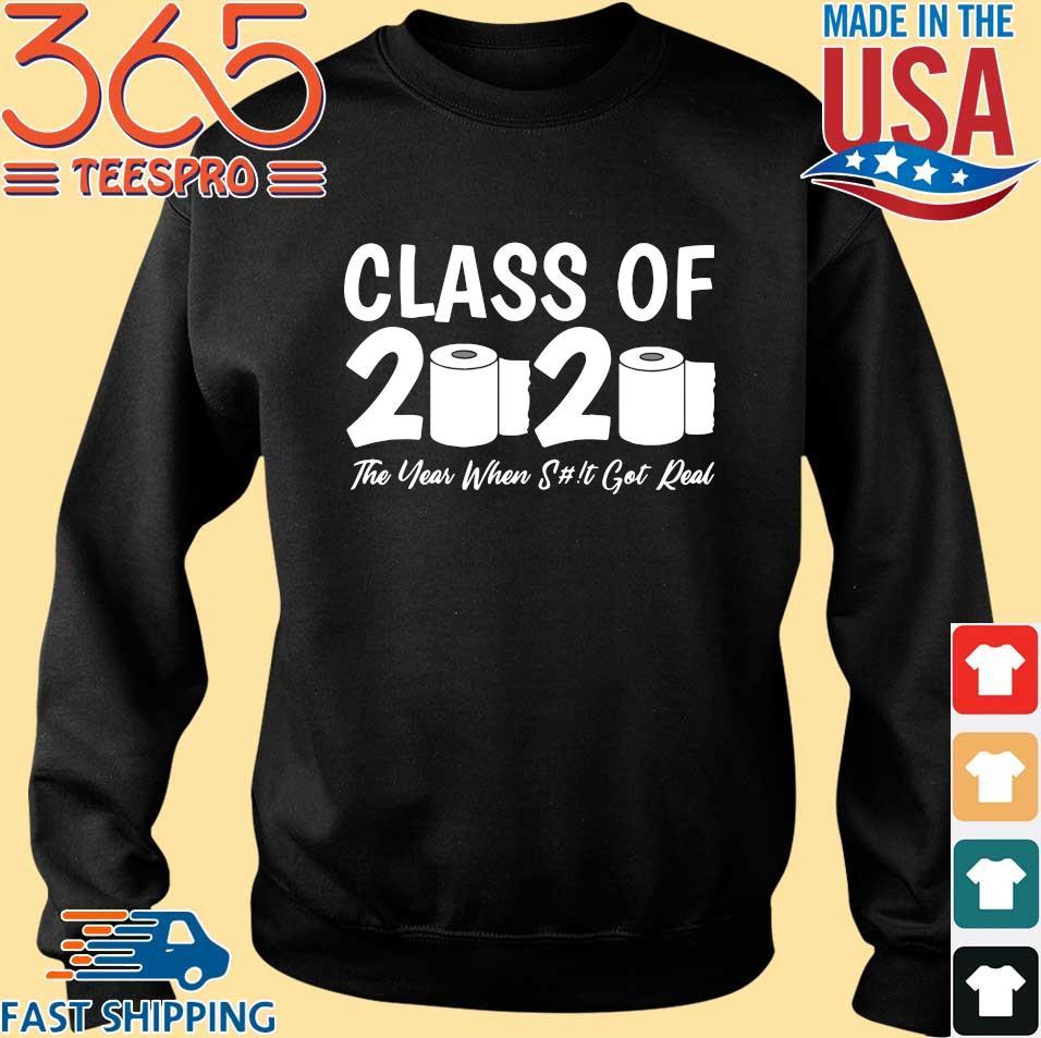 Class Of 2020 Graduation Senior Virus Flu Toilet Paper Shirts Sweater den
