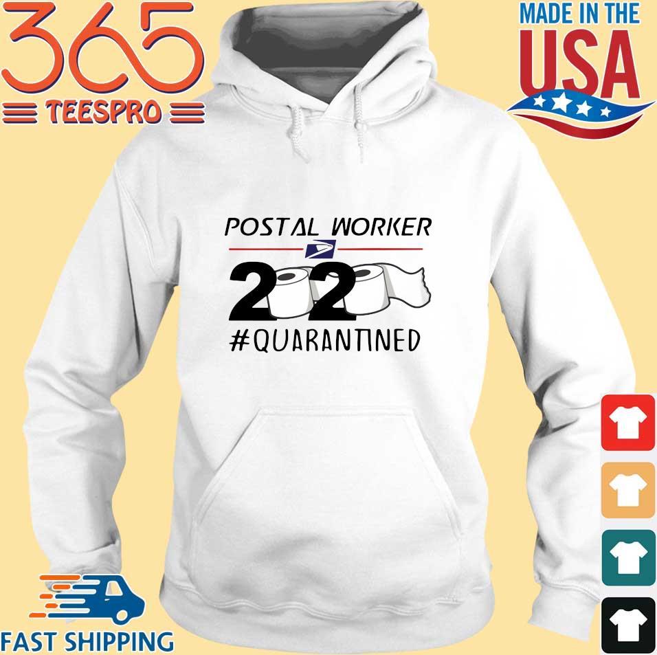 Postal Worker 2020 Quarantined Toilet Paper s Hoodie trang