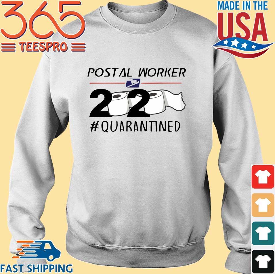 Postal Worker 2020 Quarantined Toilet Paper s Sweater trang