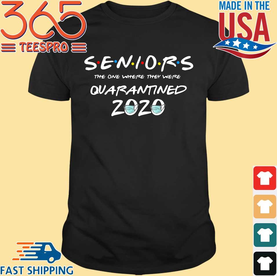 Quarantine Toilet Paper Class Of 2020 Graduation Senior Shirt