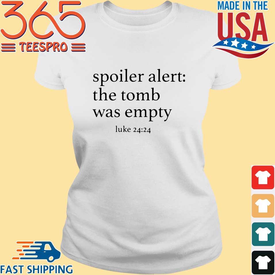 Spoiler alert the tomb was empty s Ladies trang