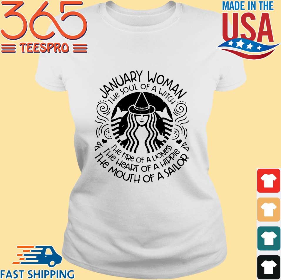 Starbucks January woman the soul of a witch the fire of a lioness s Ladies trang