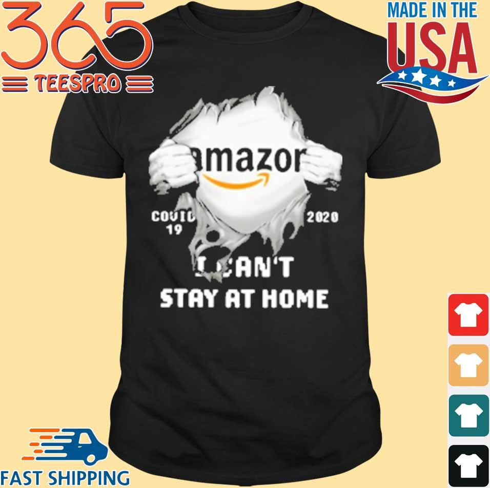 Amazon Inside Me Covid 19 2020 I Can'T Stay At Home T-Shirt