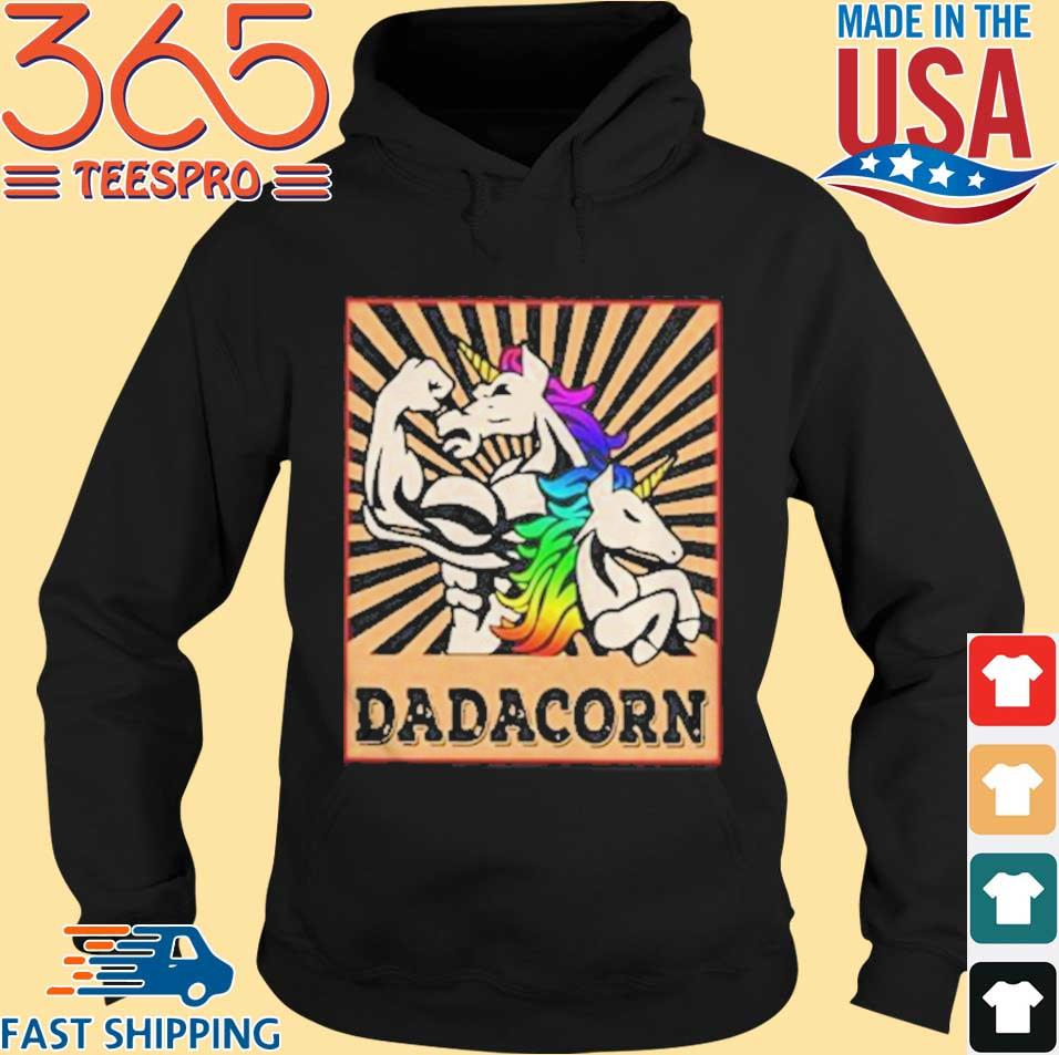 Father Day Strong Unicorn Dadacorn s Hoodie den