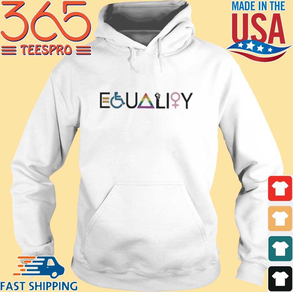 Equality Symbol Shirt Hoodie trang