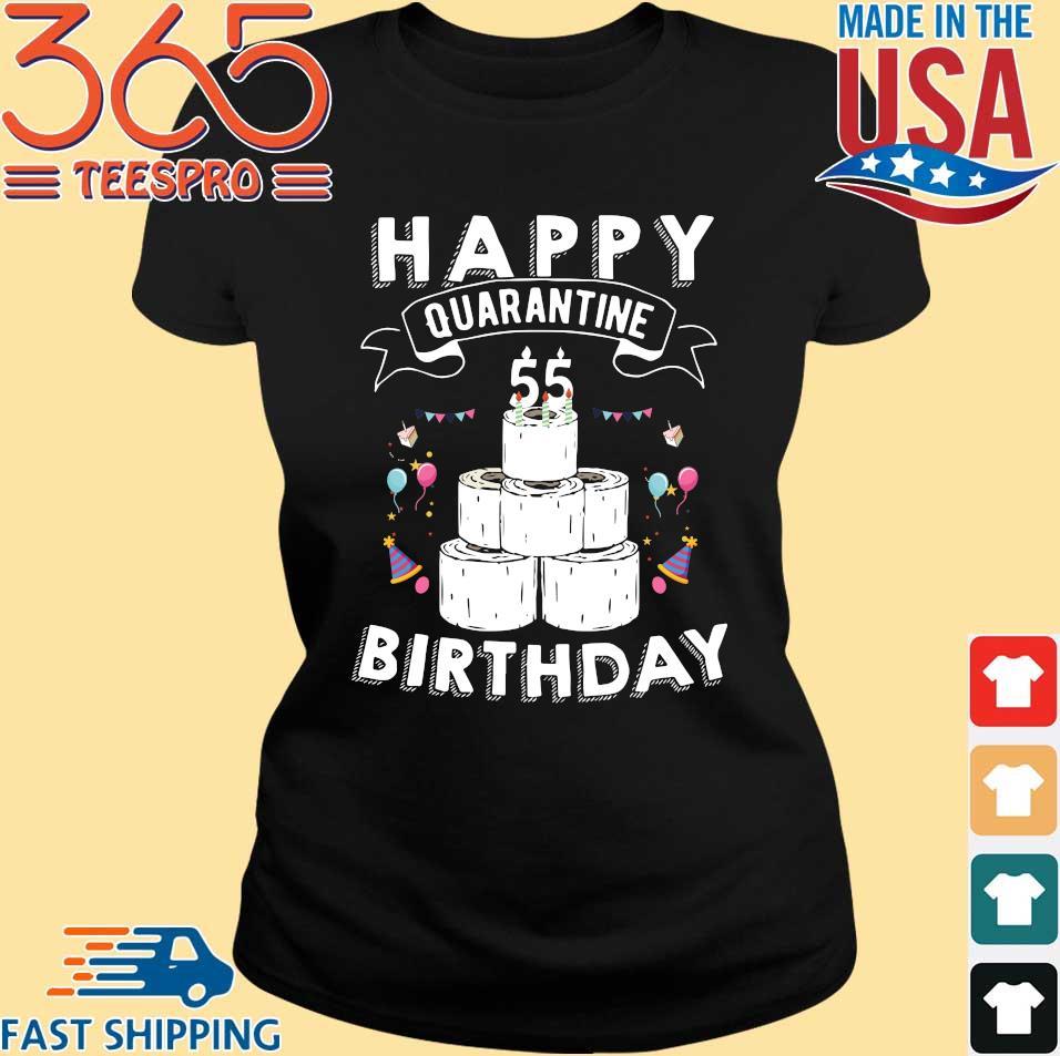 55th Birthday Social Distancing T-Shirt – Quarantine Birthday 55 Years Old Tee Shirts (1)