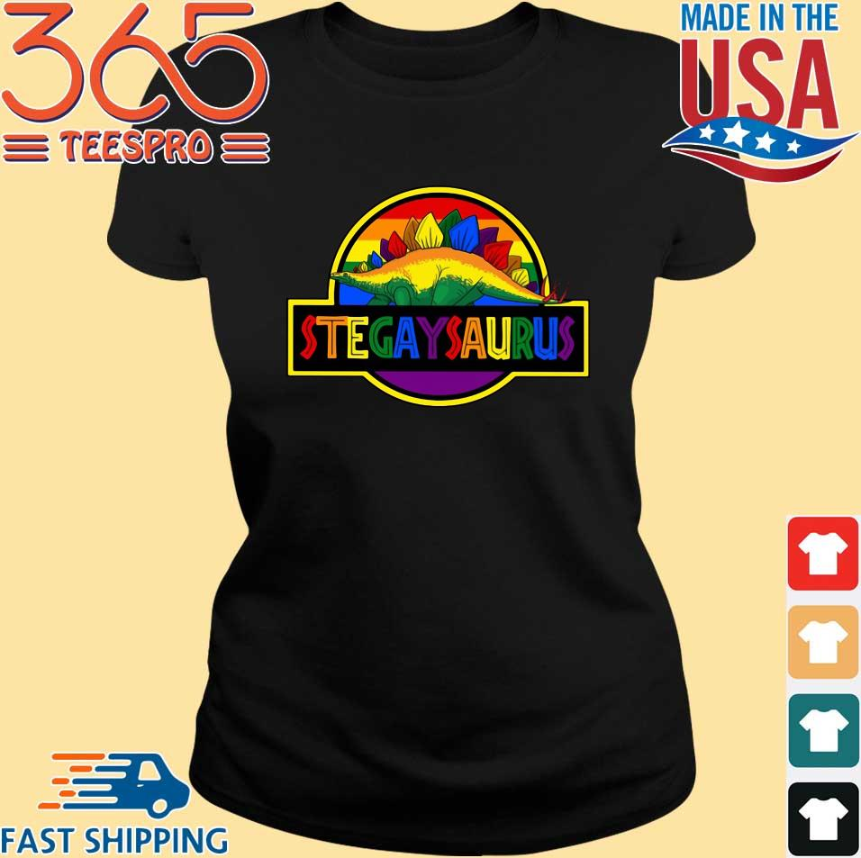 LGBT Stegaysaurus Shirt
