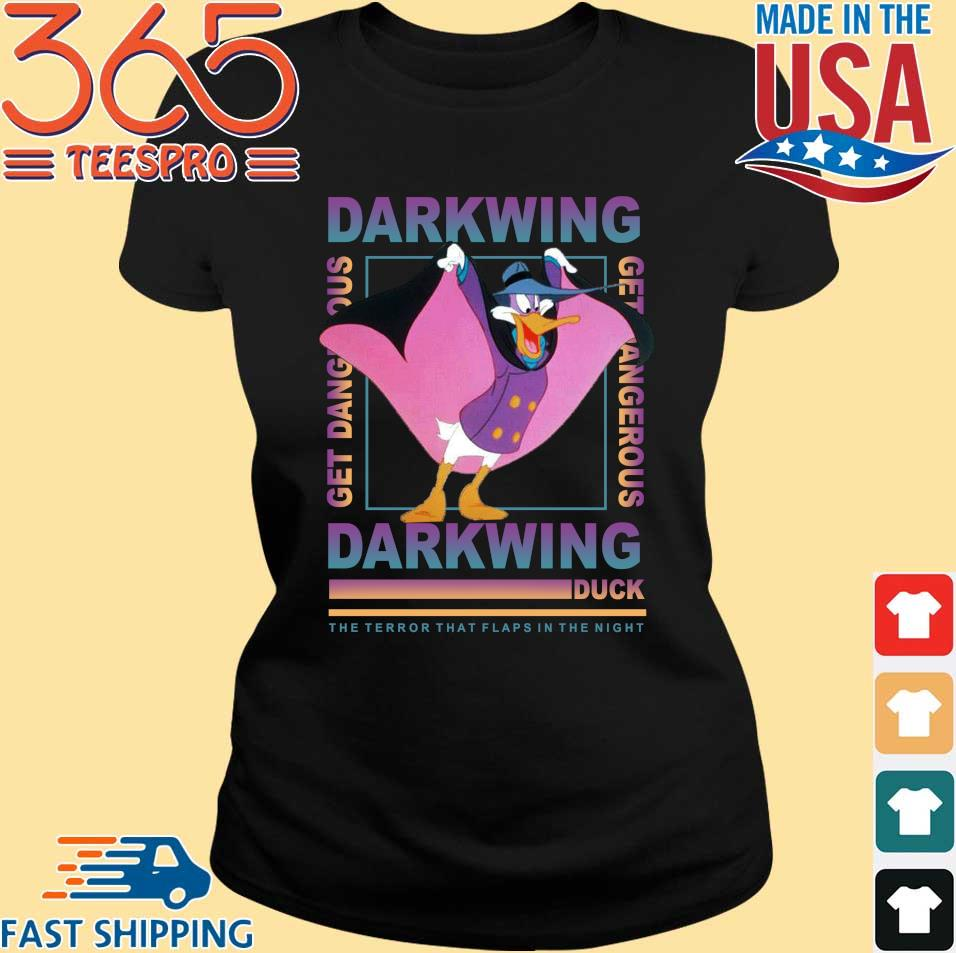 The terror that flaps in the night darkwing duck shirt