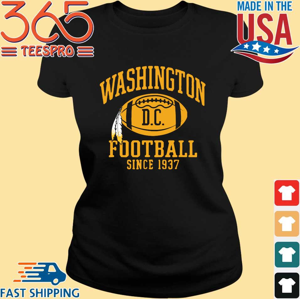 Washington football DC since 1937 shirt