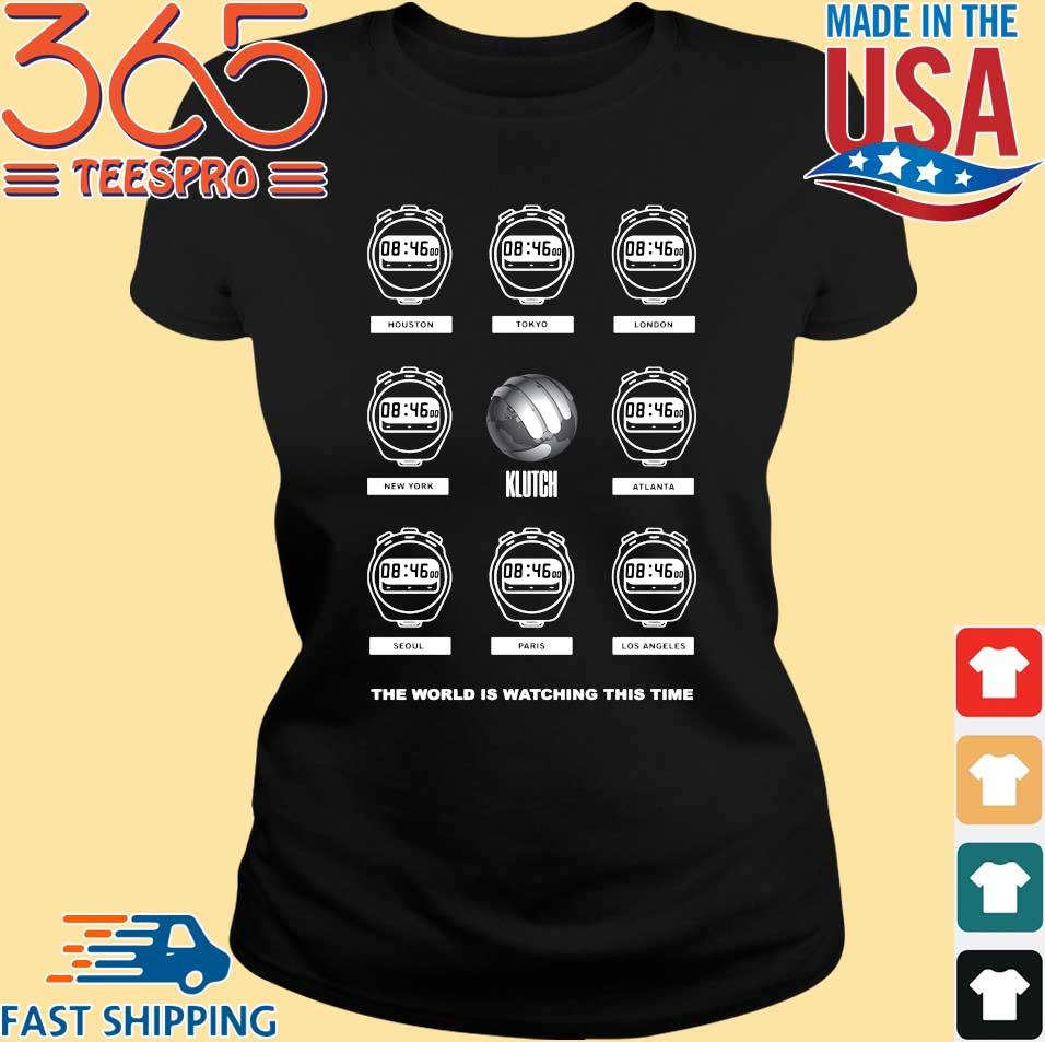8_46 the world watching this time Lebron James shirt