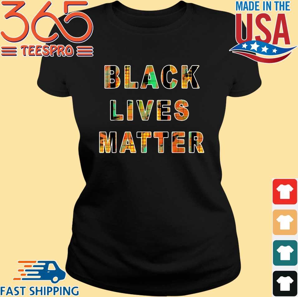 Black lives matter design shirt
