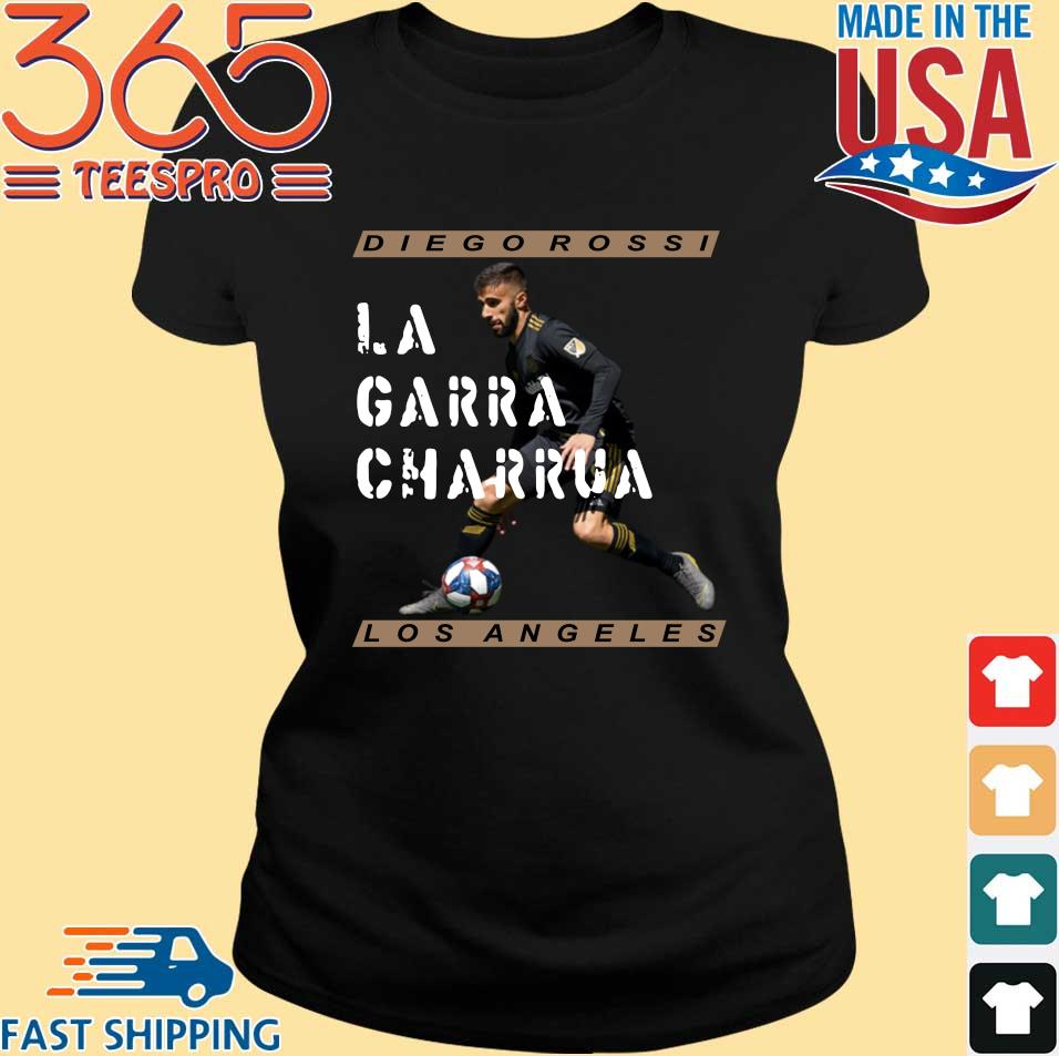 Diego Rossi La Garra Charrua Los Angeles FC shirt
