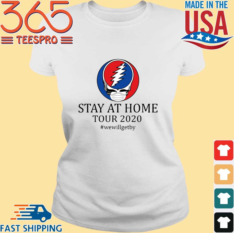 Skull grateful dead logo stay at home tour 2020 s Ladies trang