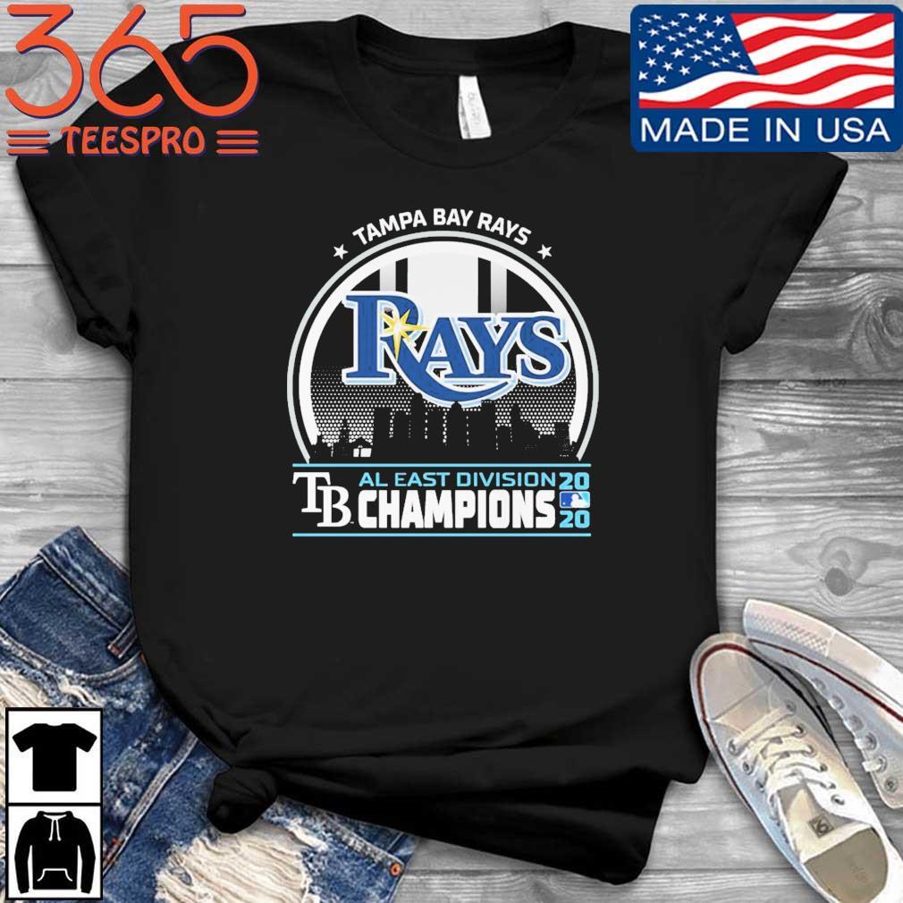 Tampa Bay Rays TB al east division champion 2020 shirt