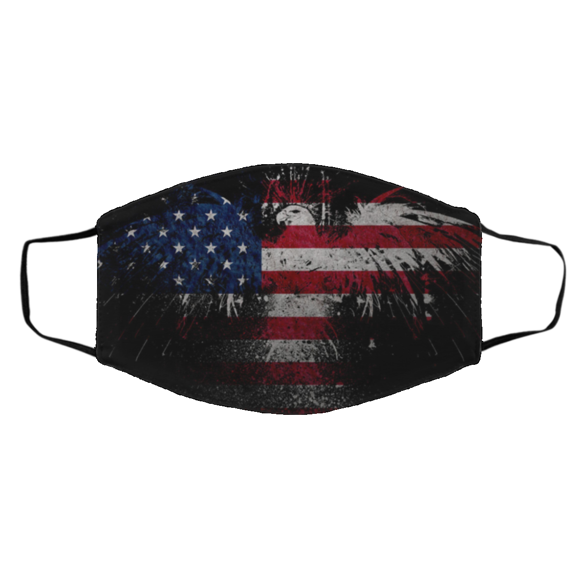 Unit-ed Stat-es Flag US Cloth Face Mask