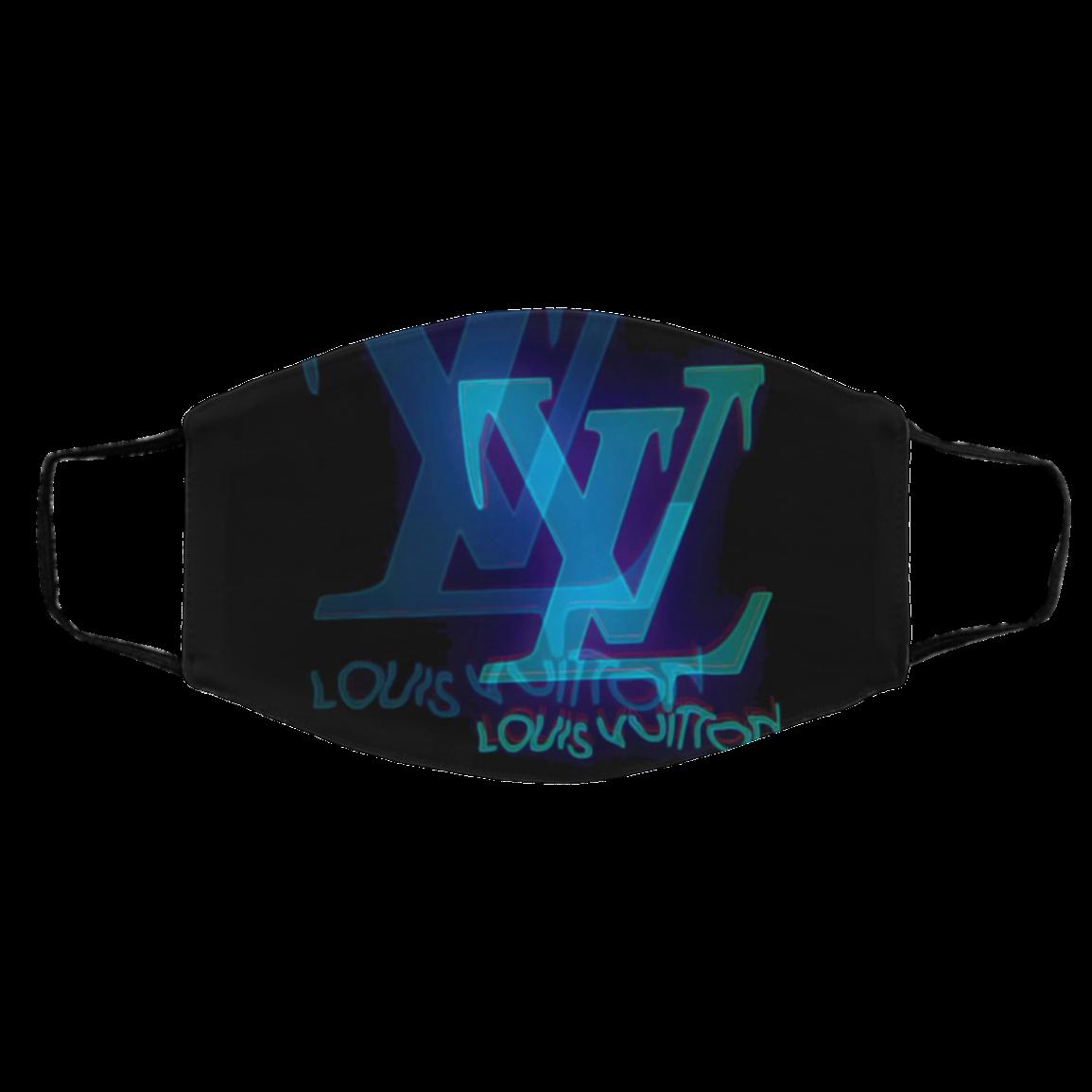 Lo-uis Vu-itto-n Face Mask – Logo L-V 2021