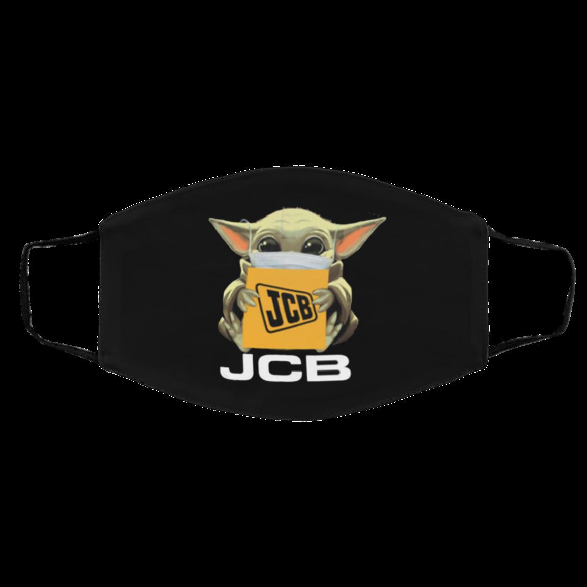 B-aby Yod-a J-C-B Cotton Face Mask