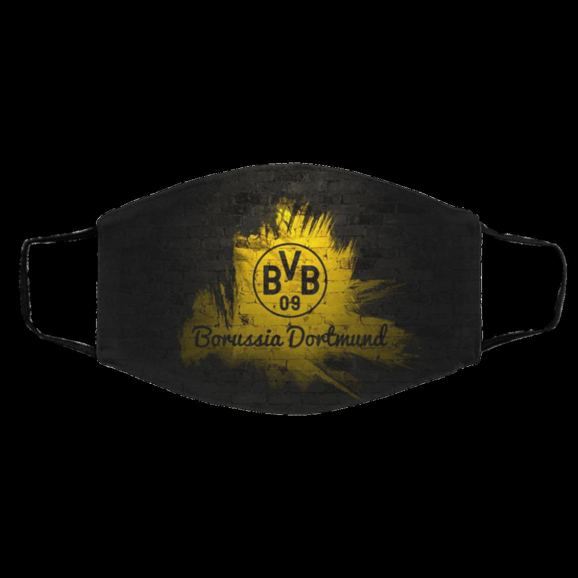 Face Mask Borussia Dortmund Reusable Cotton Masks