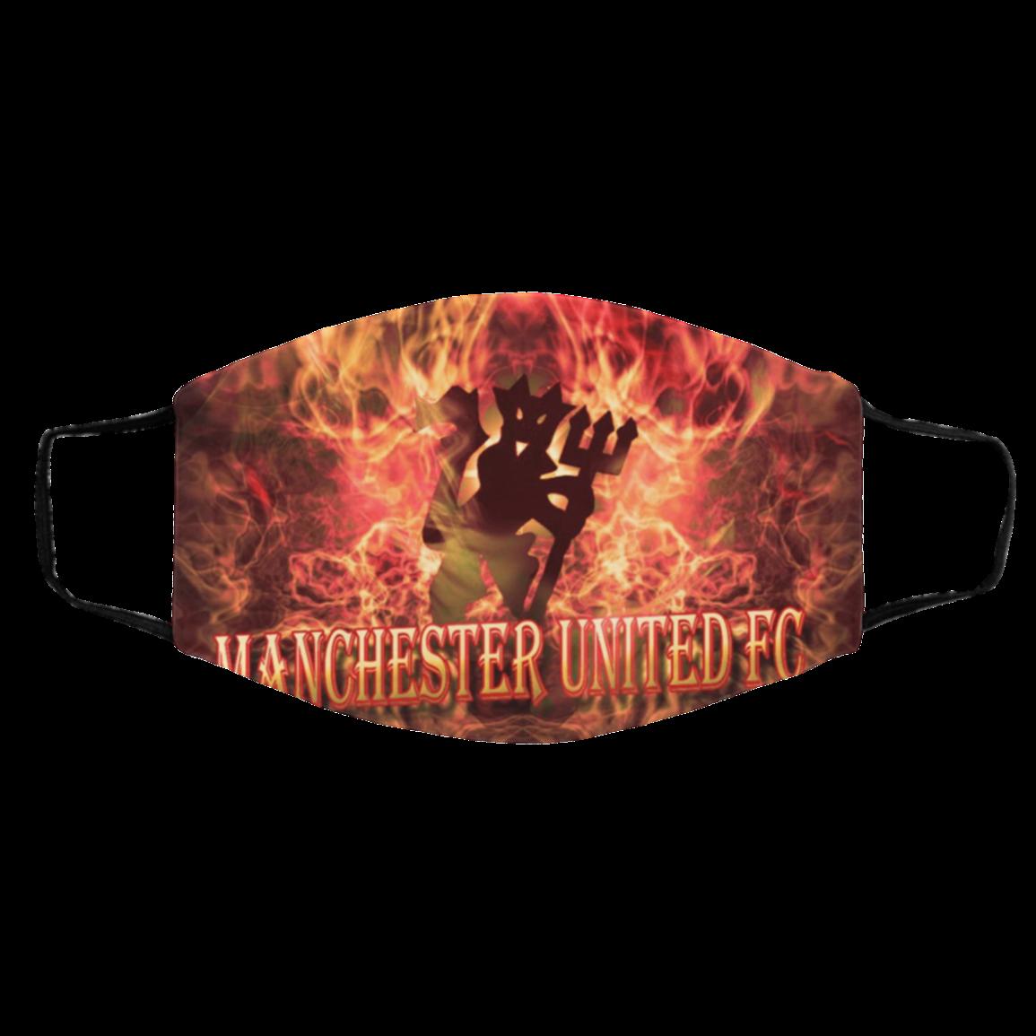 Face Mask En-gland So-ccer Team Manchester United Masks