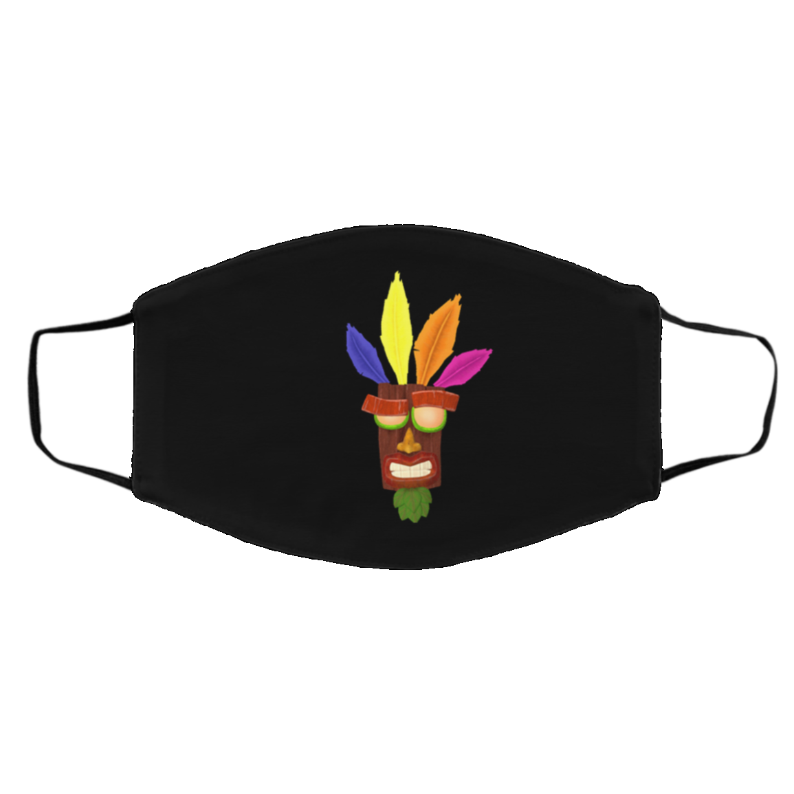 Cra-sh Band-ic-oot Face Mask For Fans