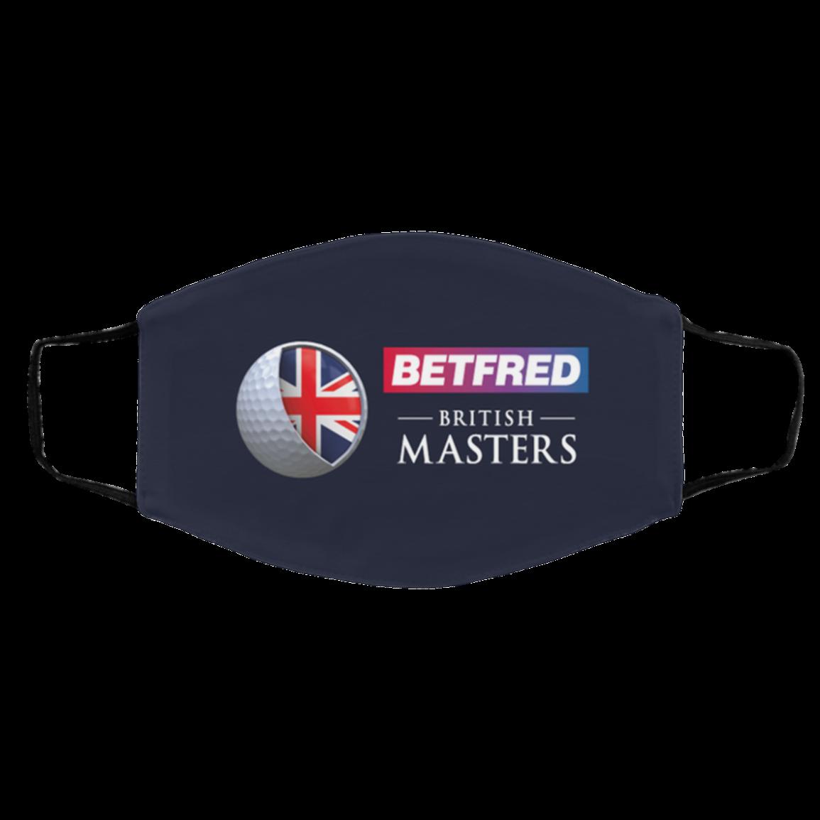 Logo Britis-h Masters Face Masks